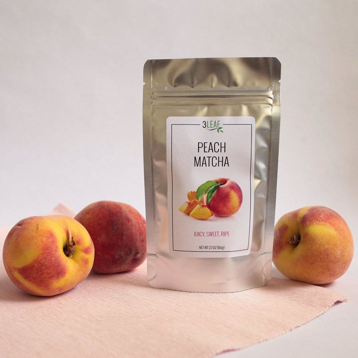 Peach Matcha | 3 Leaf Tea | Flavored Japanese Green Tea