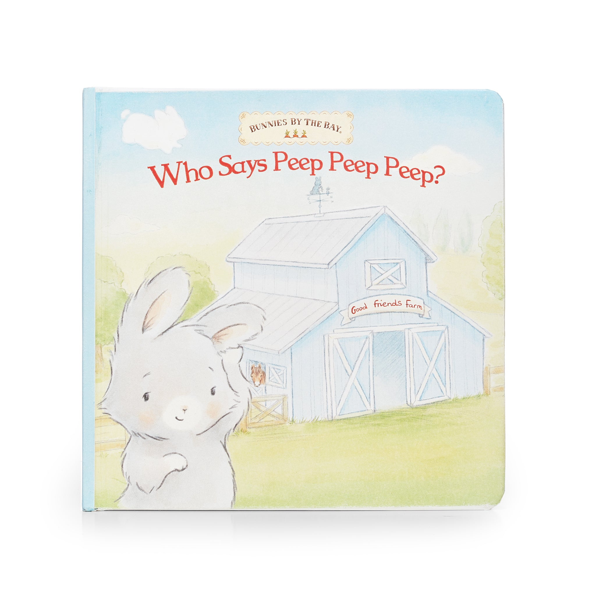WHO SAYS PEEP PEEP BOARD BOOK
