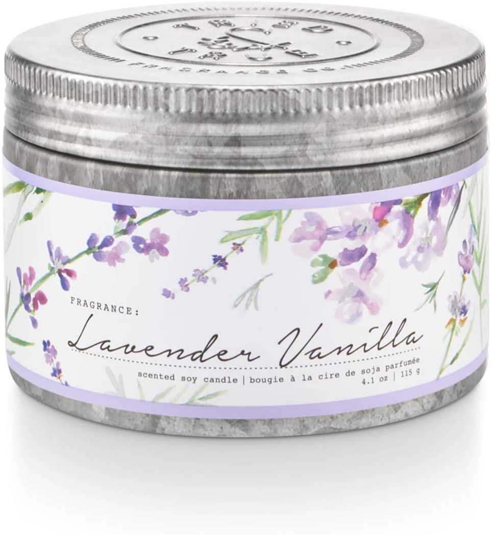 TRIED AND TRUE SMALL 4OZ TIN CANDLE