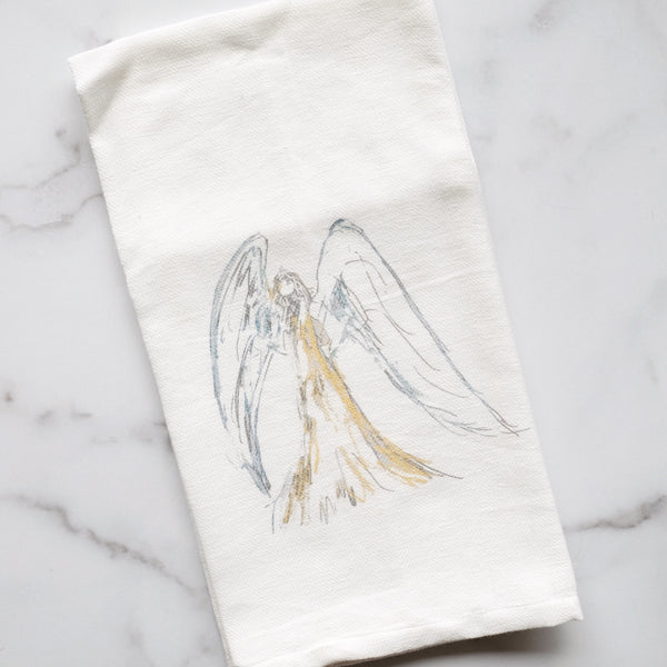 DIVINE ANGEL TEA TOWEL