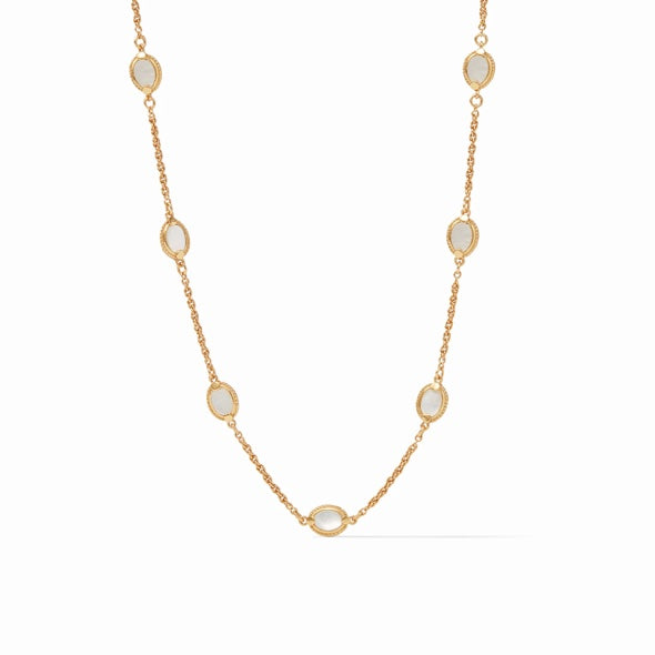 CALYPSO DEMI DELICATE NECKLACE - MOTHER OF PEARL