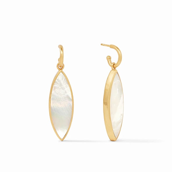 VENUS STATEMENT EARRING - MOTHER OF PEARL