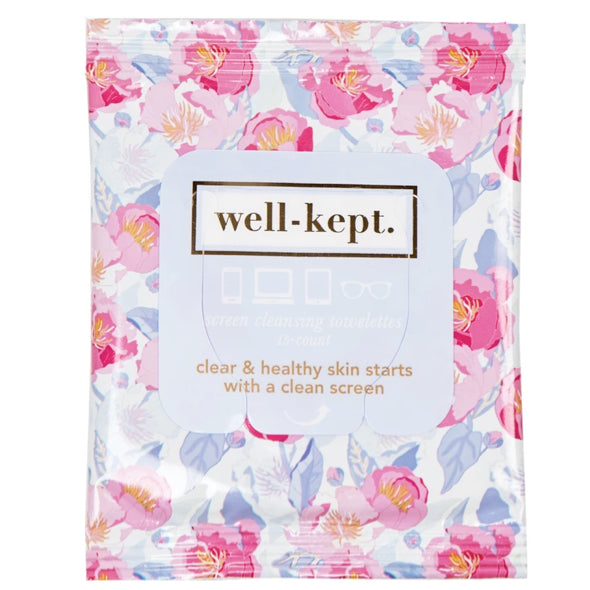 WELL-KEPT SCREEN CLEANSING TOWELETTES-LADY