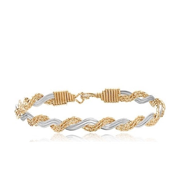 LOVE KNOT- GOLD & SILVER