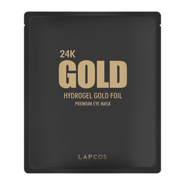 24K GOLD HYDROGEL GOLD FOIL EYE MASK
