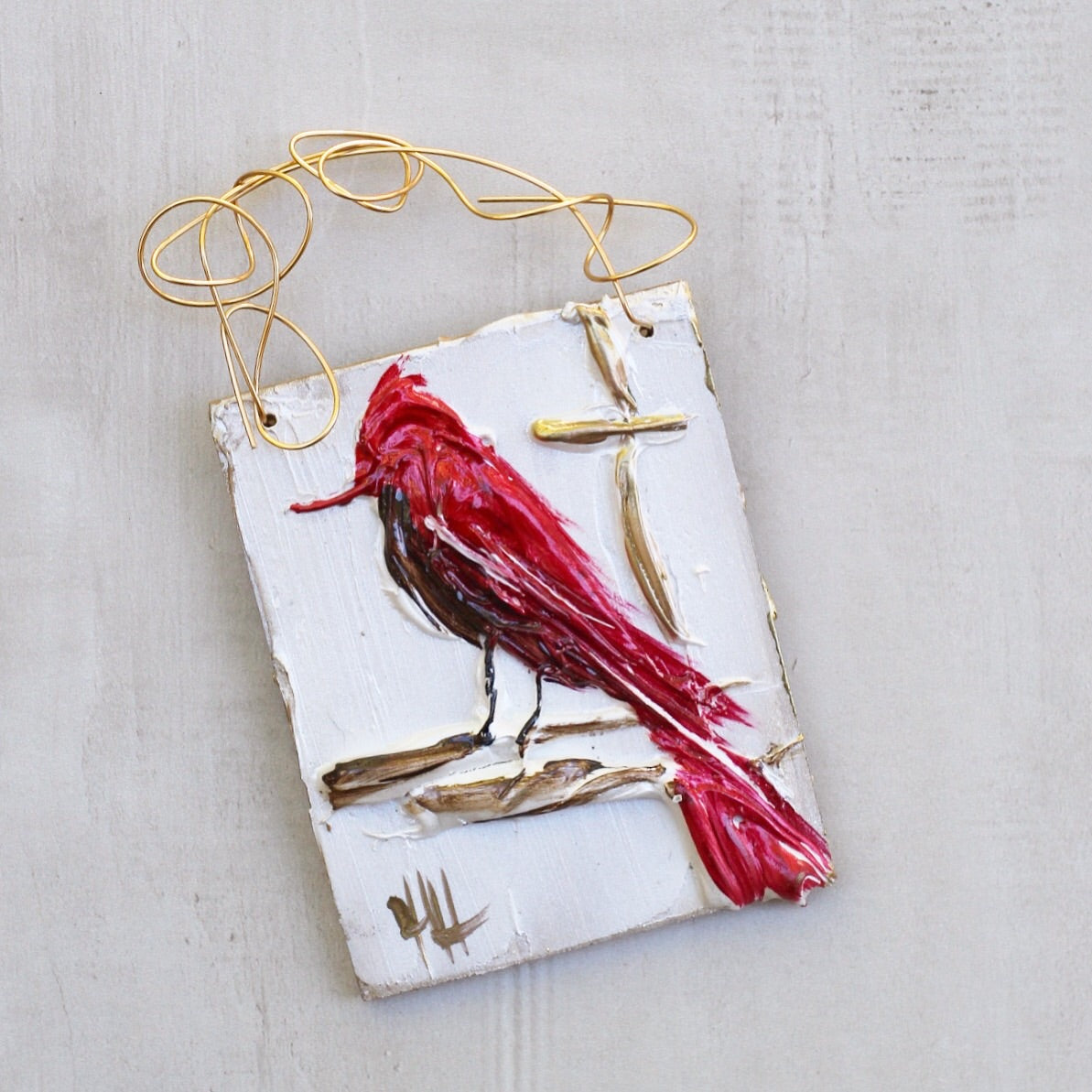 RED BIRD HANGER 3
