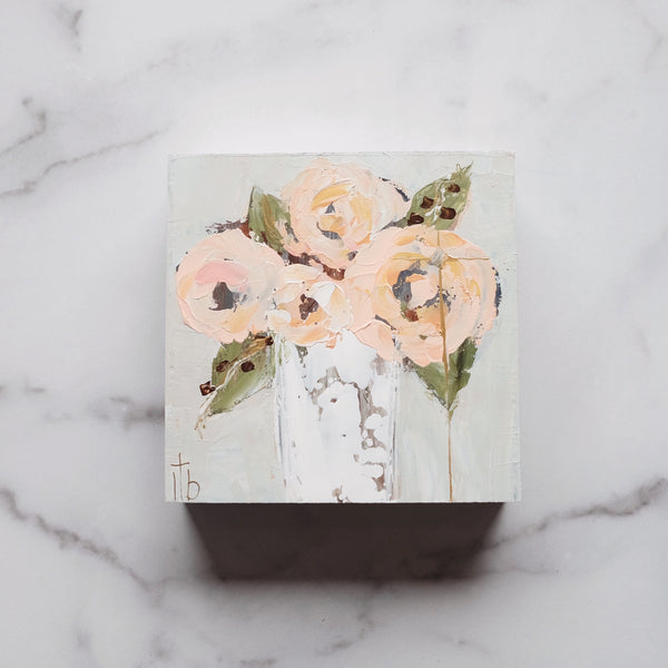 LAUREL BROWNING 6X6 FLORAL 8