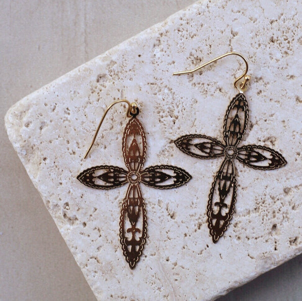 DELICATE FAITH EARRINGS