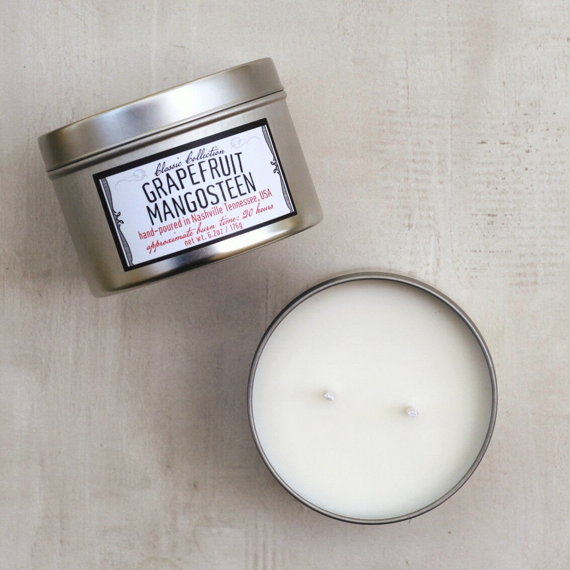 GRAPEFRUIT MANGOSTEEN SMALL CANDLE