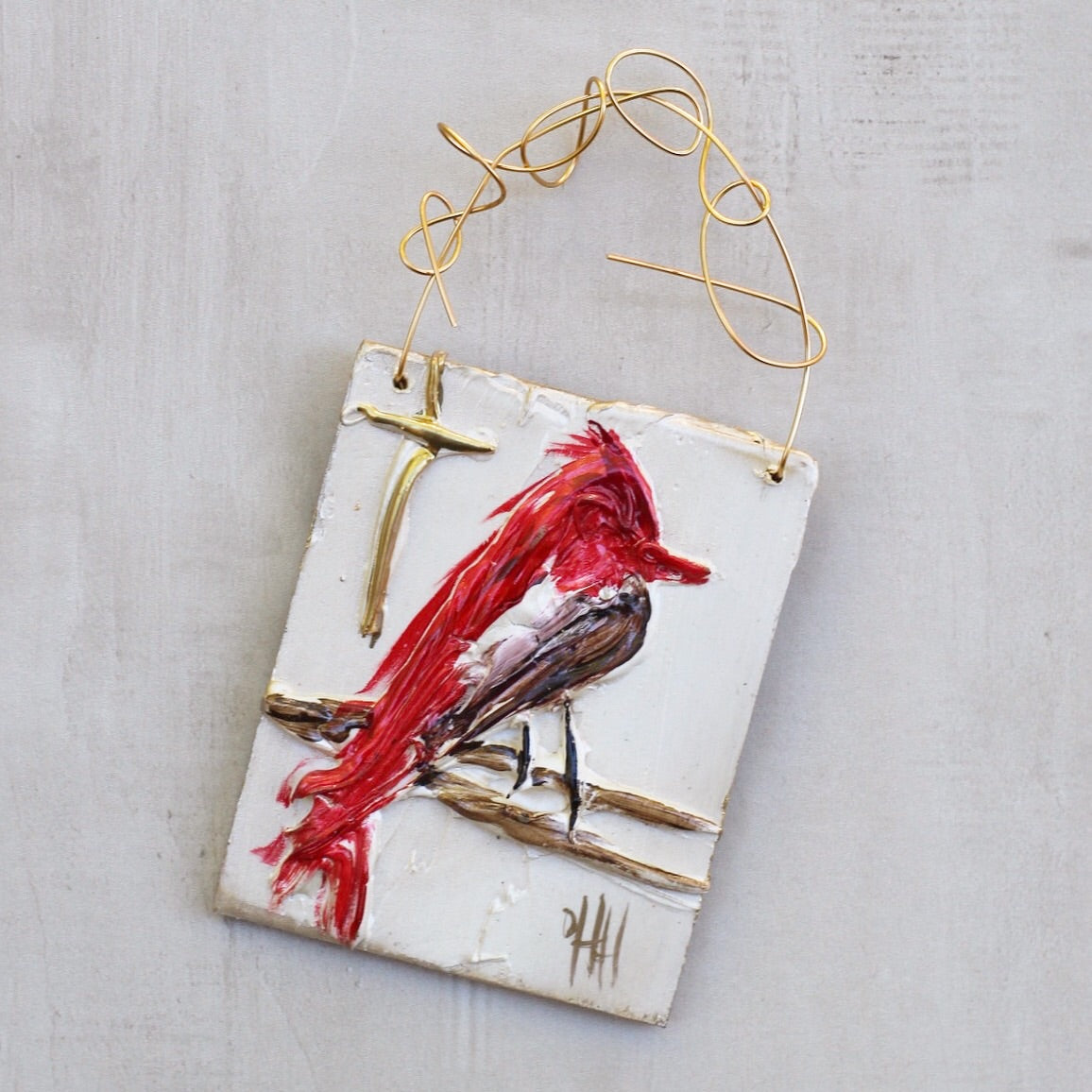 RED BIRD HANGER 2