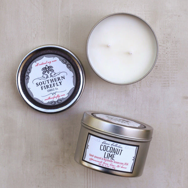 COCONUT LIME SMALL CANDLE