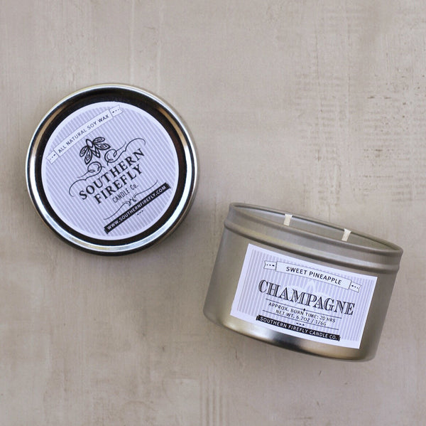 CHAMPAGNE SMALL CANDLE