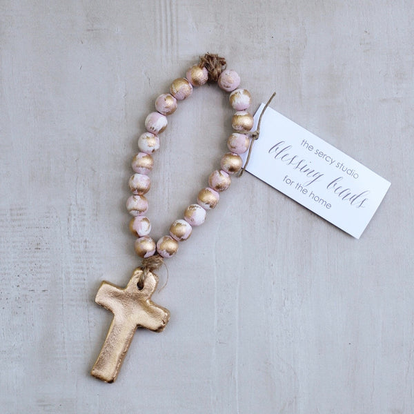 PINK TINY BLESSING BEADS