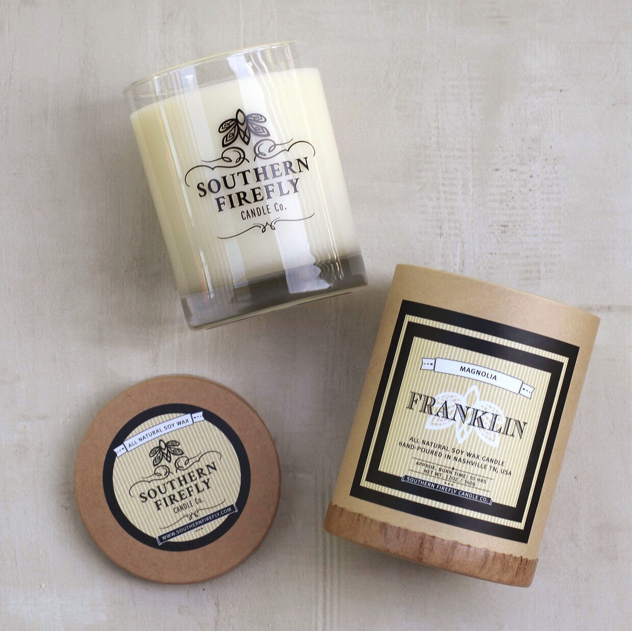 FRANKLIN LARGE CANDLE