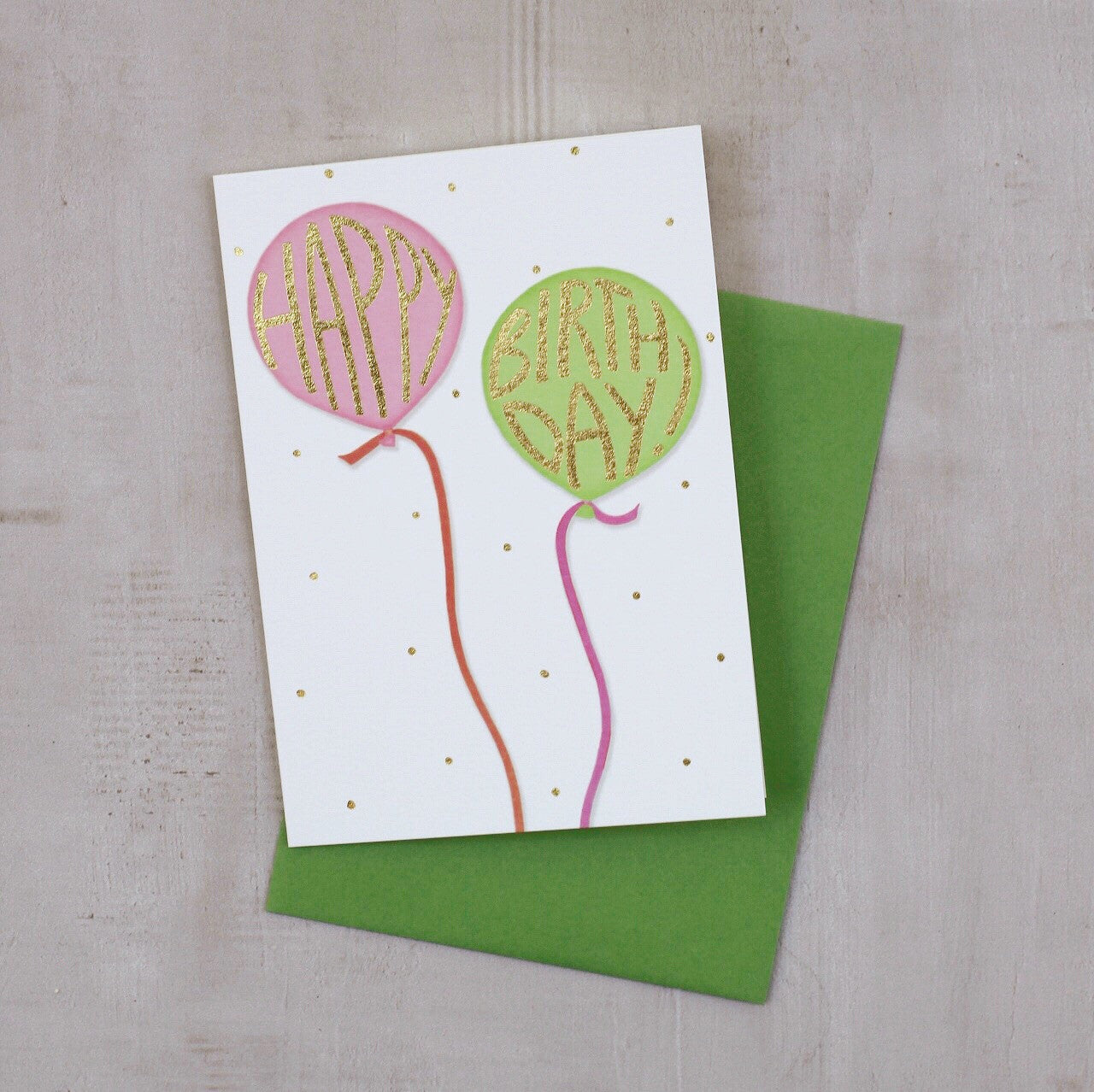 ALL BLOWN UP GREETING CARD