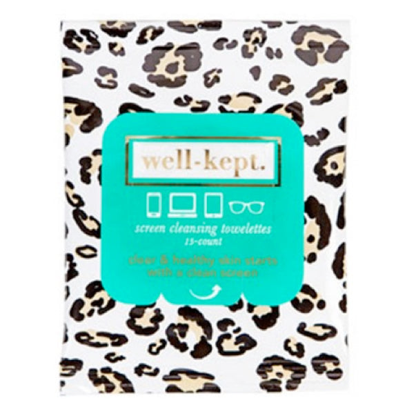 WELL-KEPT SCREEN CLEANSING TOWELETTES- SPIRIT ANIMAL