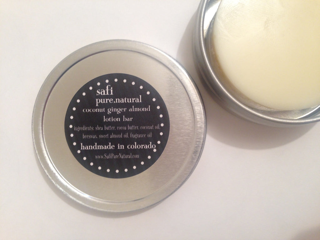Travel Lotion Bar in Tin
