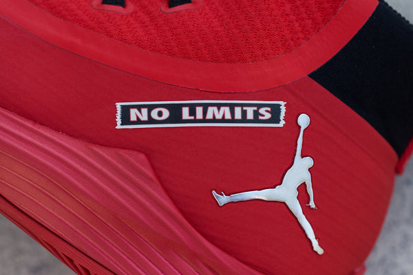 NO LIMITS - BLACK/RED/WHITE