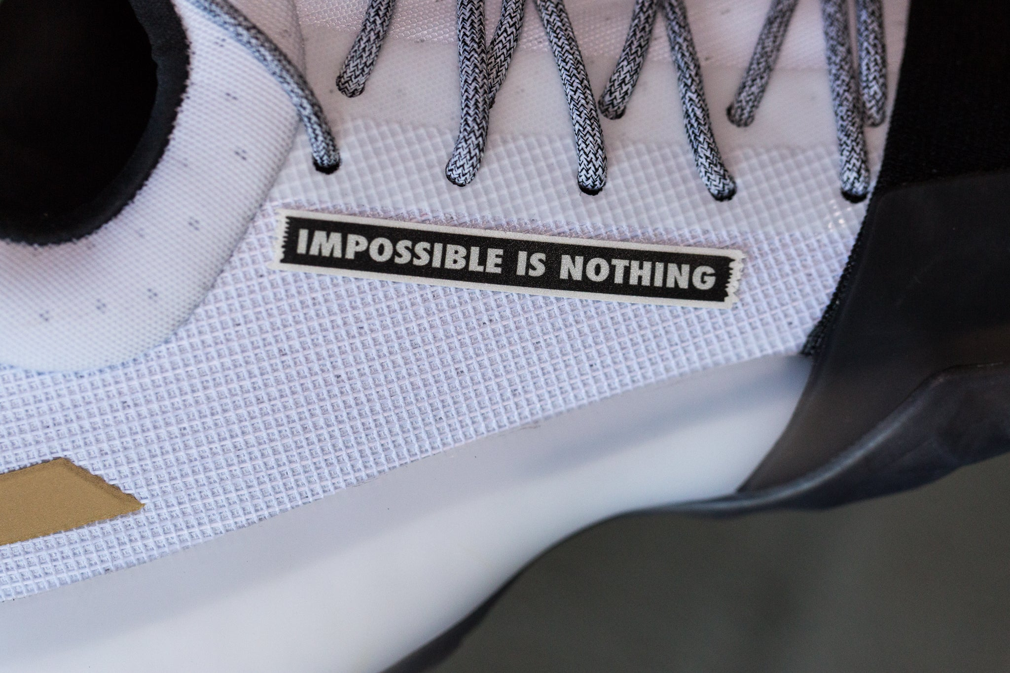 IMPOSSIBLE IS NOTHING - BLACK/SPACE GREY