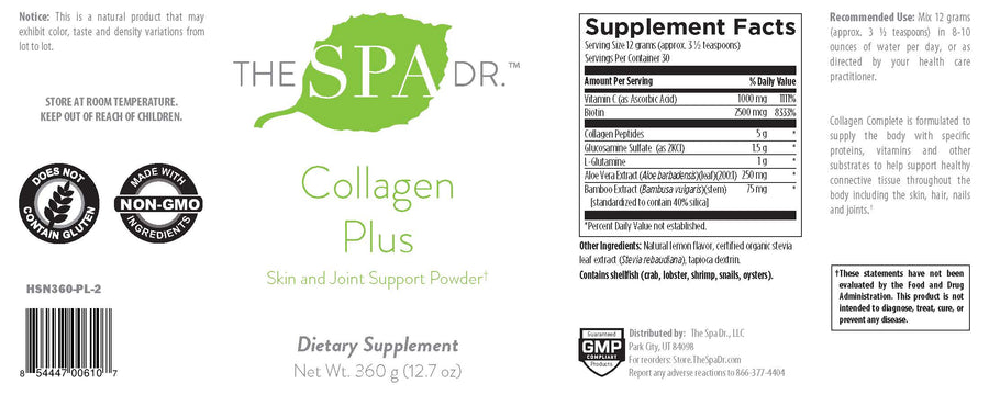 The Spa Dr.® Collagen Plus