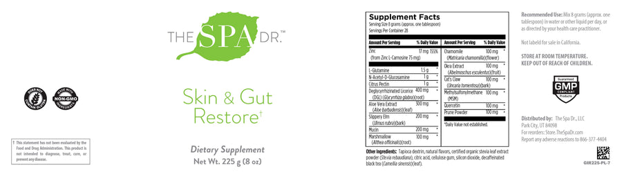 The Spa Dr.® Skin & Gut Restore