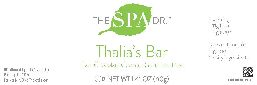 Thalia's Bar - Dark Chocolate Coconut (18 Pack) *New and Improved*