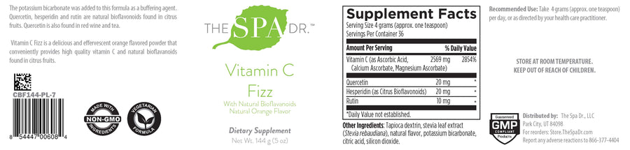 The Spa Dr.® Collagen Plus and Vitamin C Fizz Collection