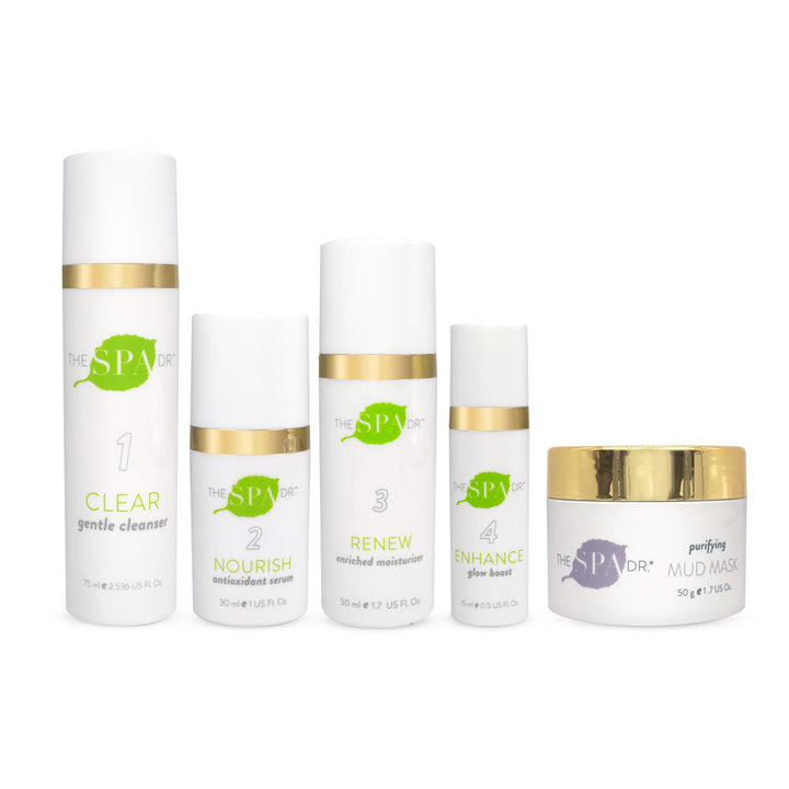 Purifying Essentials collection from The Spa Dr.®