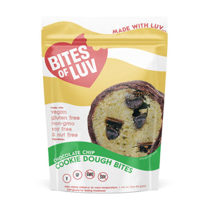 Vegan Chocolate Chip Cookie Dough Bites