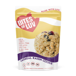 Vegan, Gluten Free Oatmeal Raisin Cookie