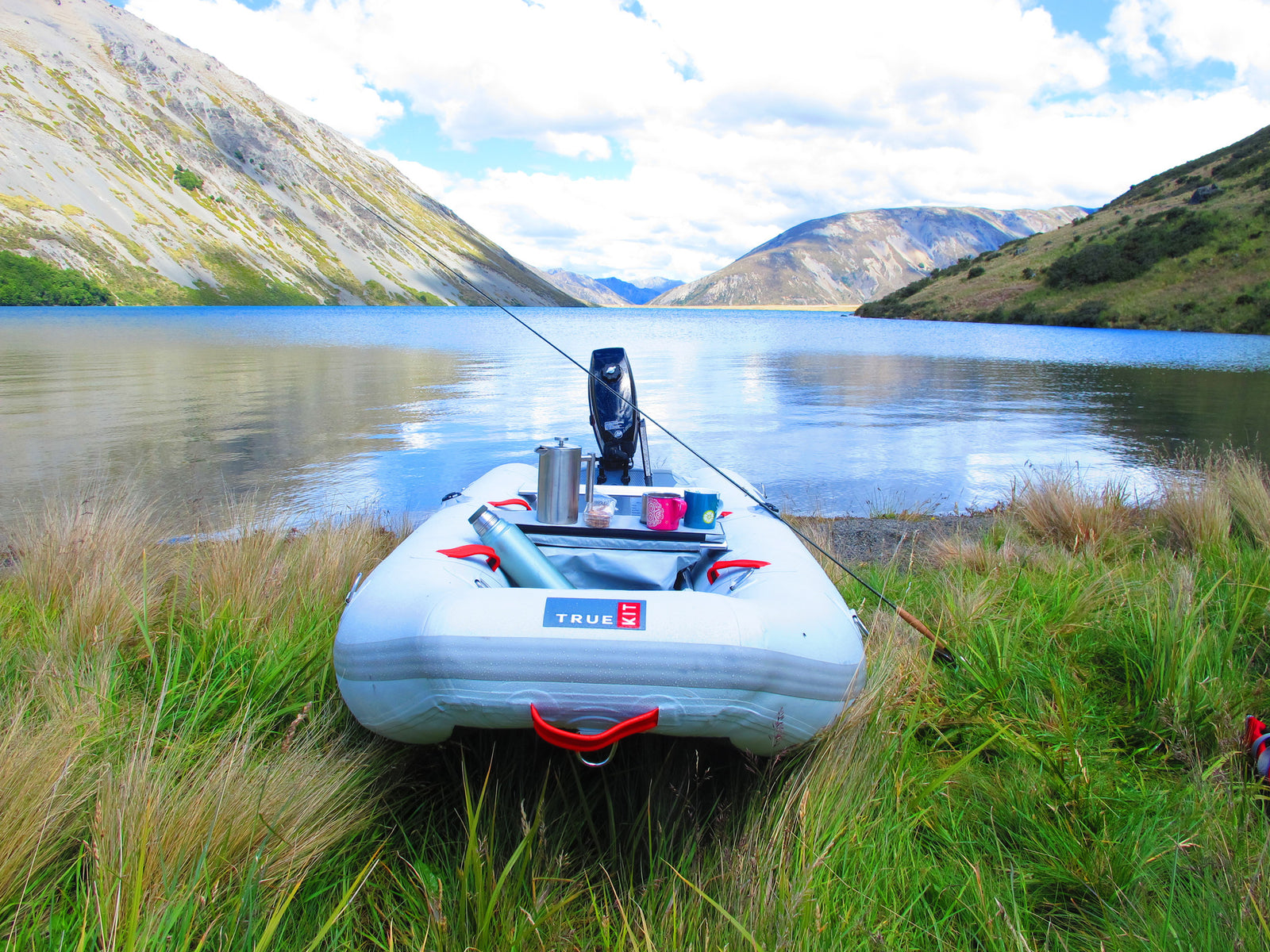 True Kit Tactician - lightweight, stable inflatable perfect for fly fishing