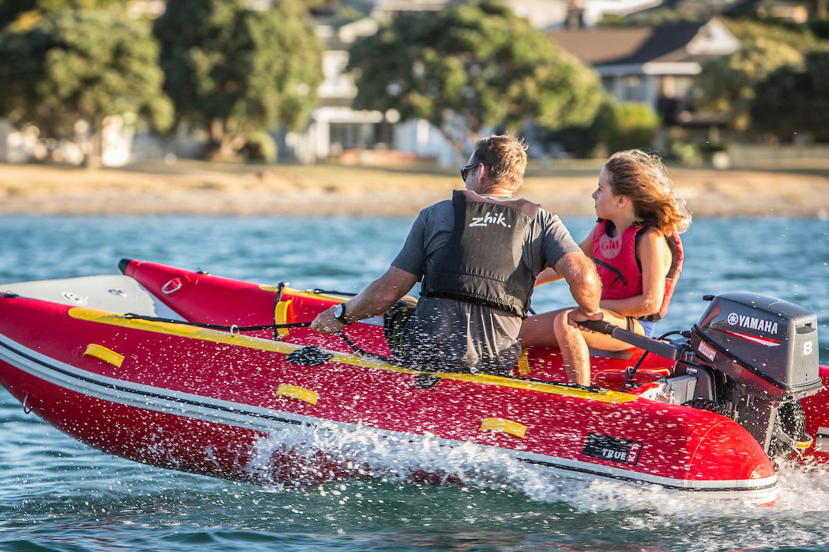 True Kit inflatables are family fun boats