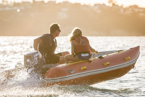 Rounded pontoon ends help inflatable boat performance