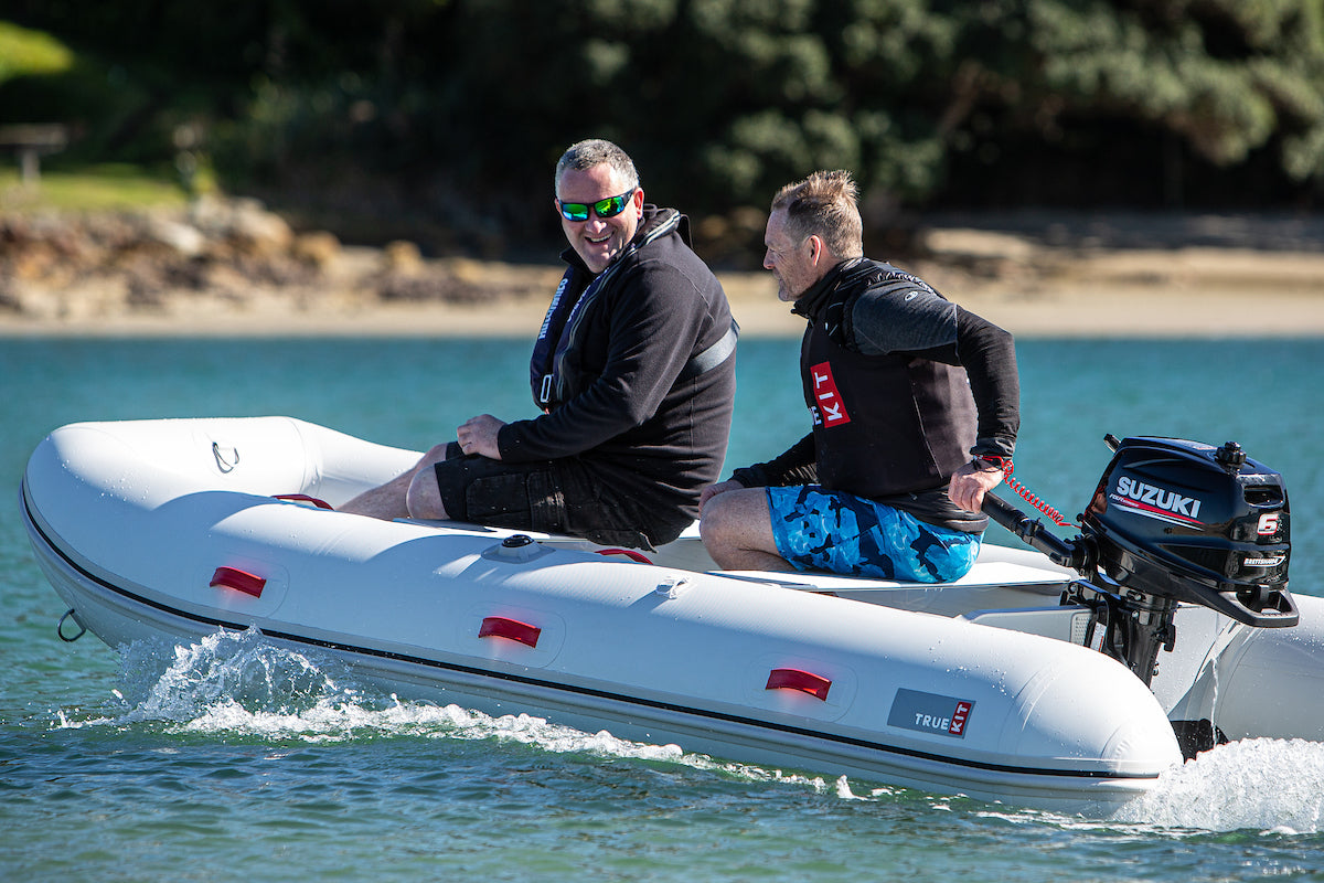 Satisfaction is guaranteed with a high quality True Kit inflatable boat