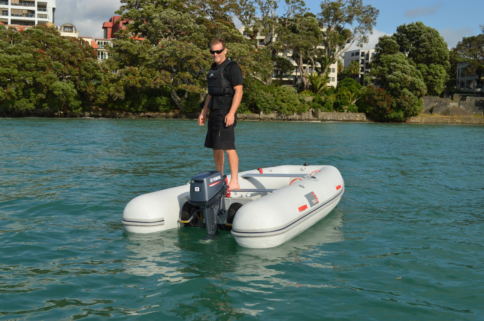 Stand up stability in True Kit folding boats