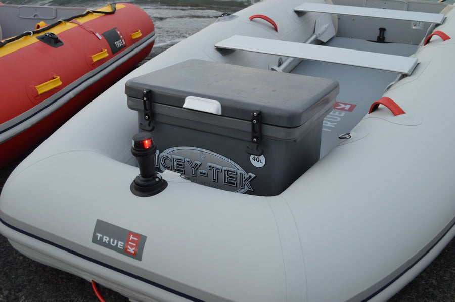 Navigation light on True Kit boats