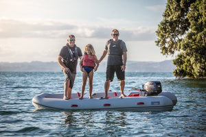 True Kit Navigator - Lightweight Catamaran Yacht Tender