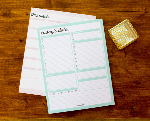 Planning Pads by Julianne and Co.