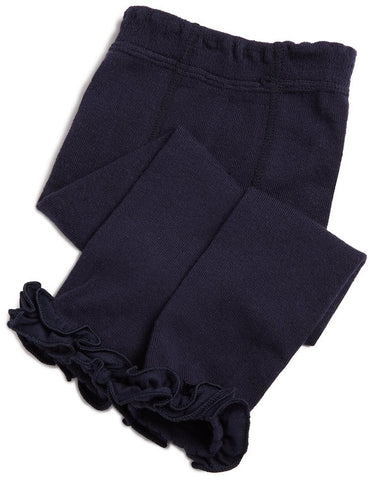 Navy Footless Tights Navy - If The Shoe Fits  - 1