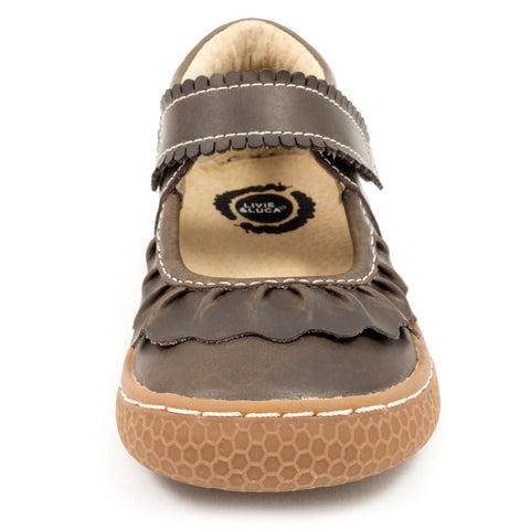 Ruche Mocha by Livie & Luca - If The Shoe Fits  - 1