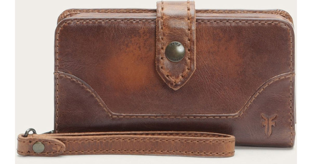 Melissa Phone Wallet Dark Brown