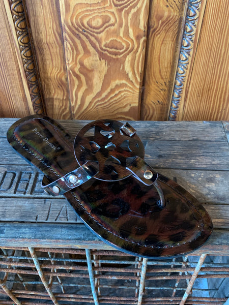 Pierre Dumas Limit-20 Dark Brown Sandal