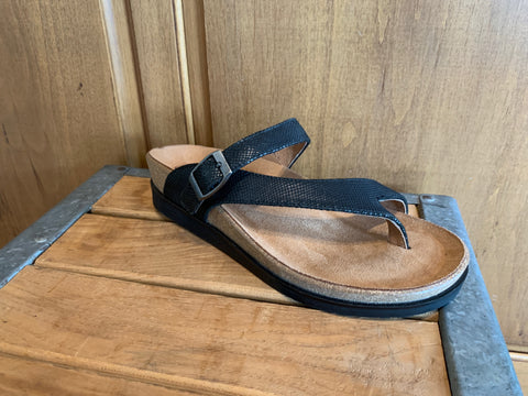 Andros Sandal in Black