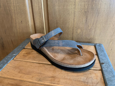 Andros Sandal in Pewter