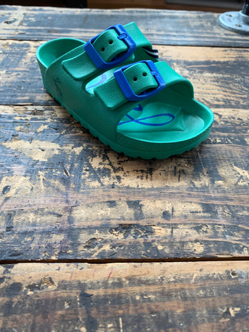Junior Shore Sandal in Green