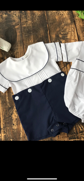 James Navy 2 Piece Set