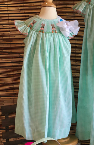 True Smocked Peter Rabbit Dress