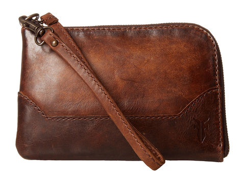 Melissa Wristlet in Dark Brown - If The Shoe Fits