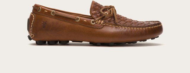 Russell Woven in Cognac - If The Shoe Fits