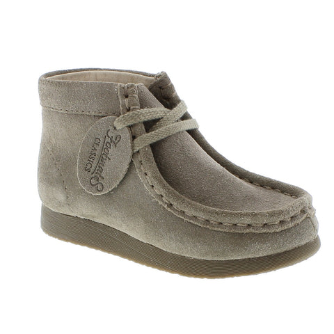 Wally in Taupe Suede